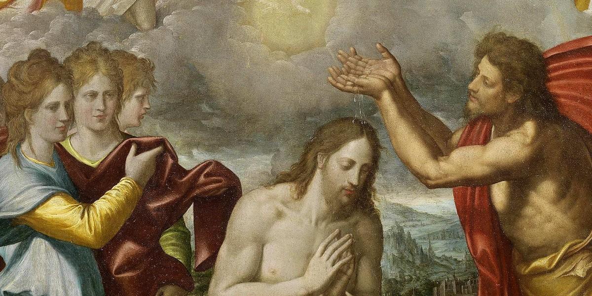 Иоанново крещение разве может прощать грехи?
