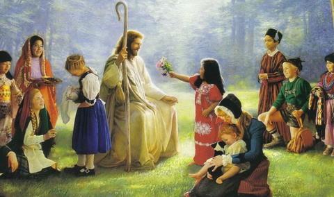 Библейские истории для детей: Адам и Ева