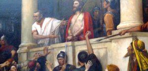 Иисус Христос молчал, когда Его обвиняли или нет?