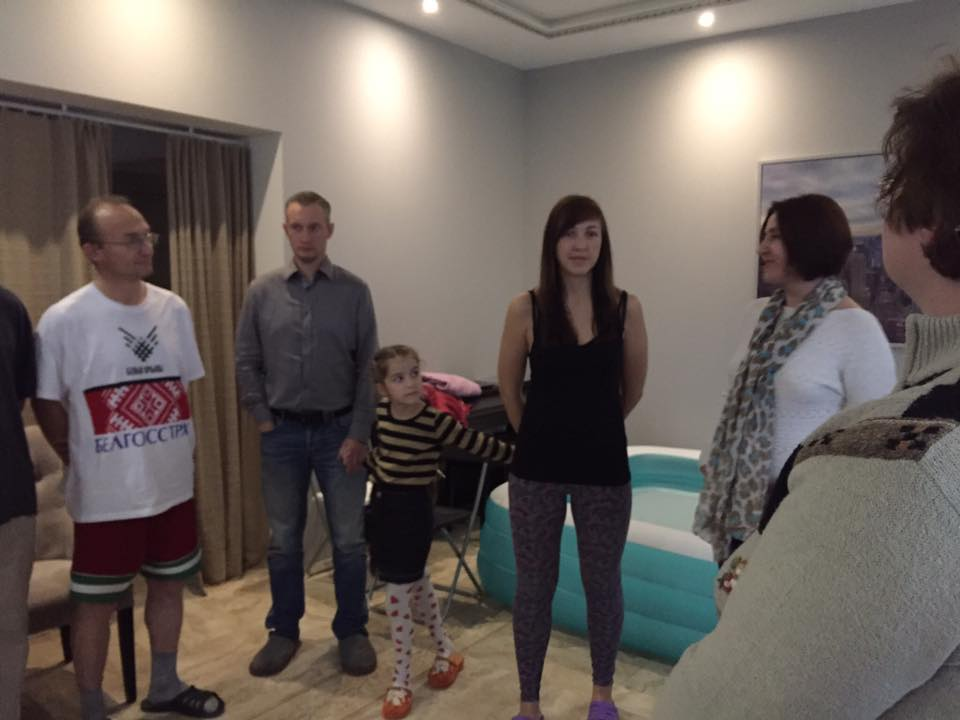 Крещение в Минске: Путь к Богу не всегда простой
