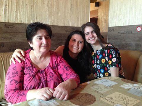 Крещение мамы Дианы в Минске - четыре поколения