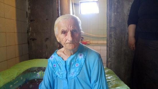 Крещение в Тбилиси в возрасте 83 лет