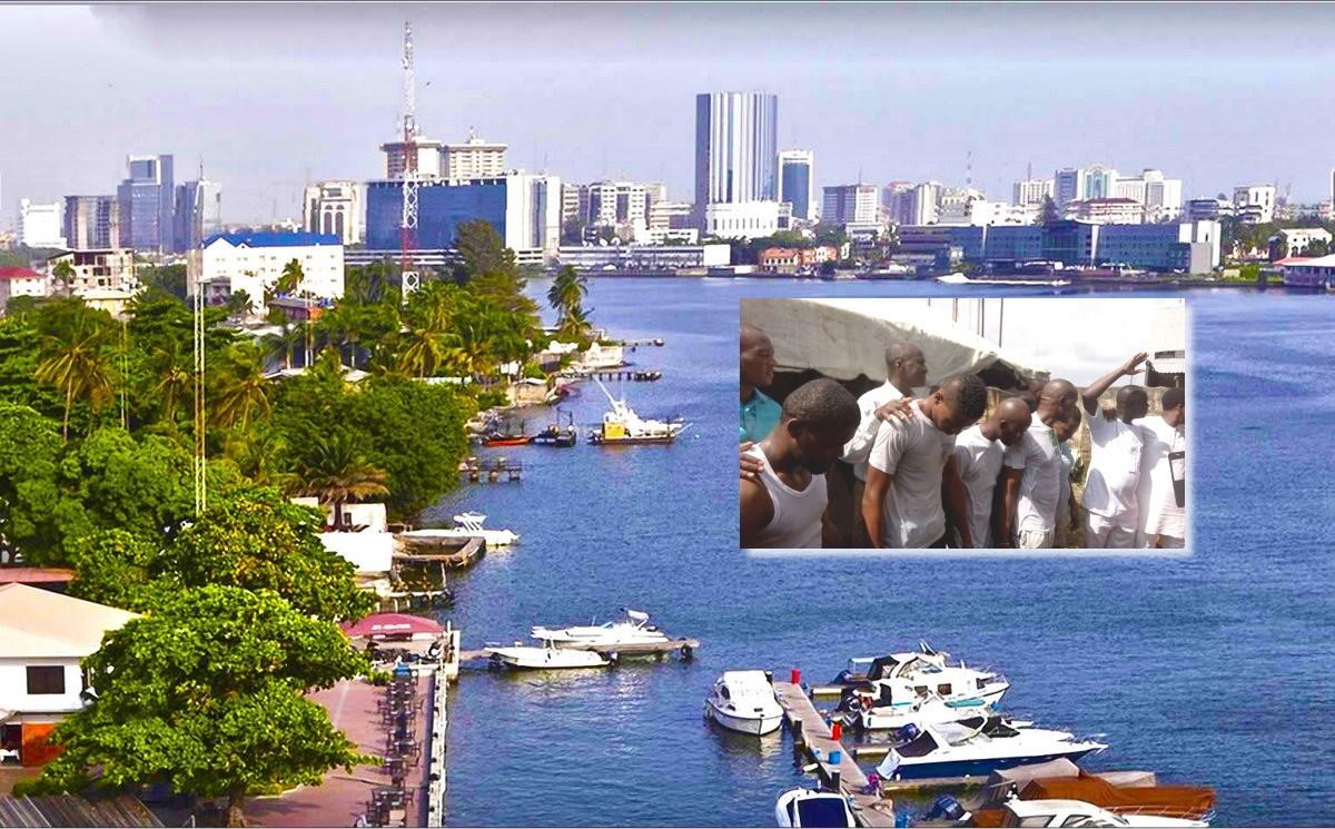 Крещение в Лагосе - хорошие новости из церкви в Нигерии