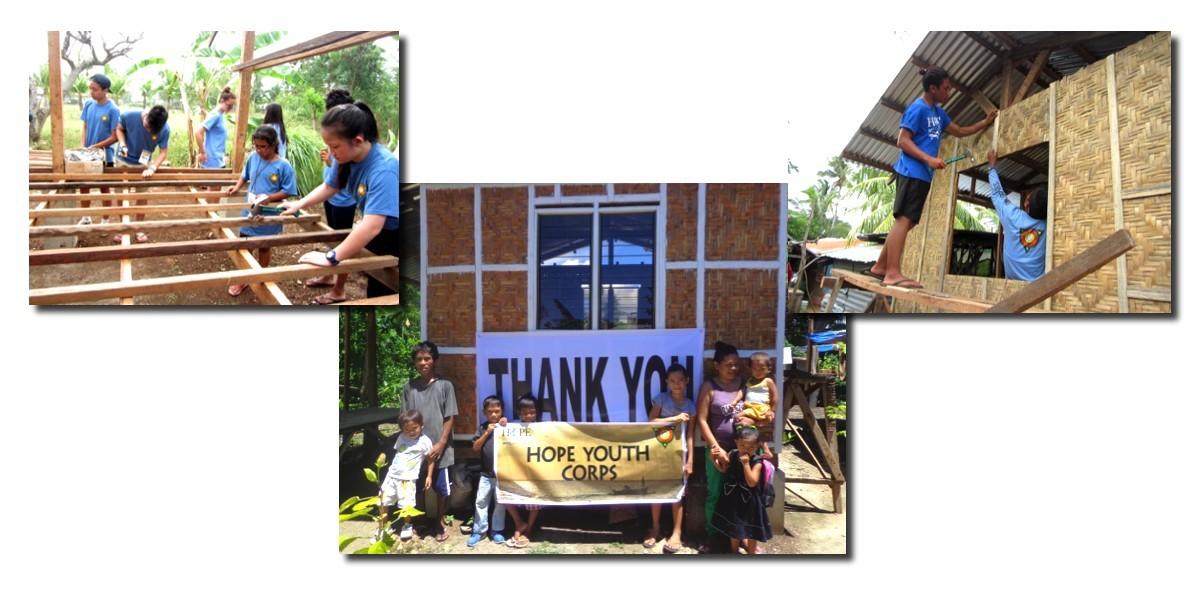 """Волонтеры """"Hope Worldwide"""" построили 14 домов на Филиппинах"""