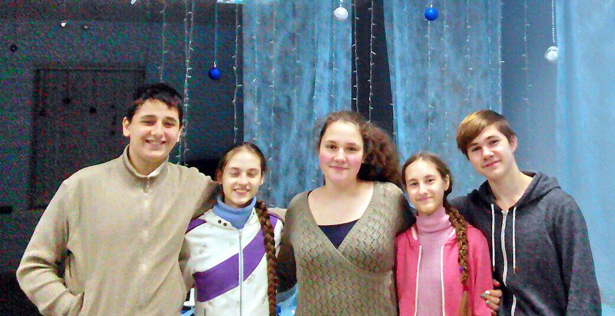 Церковь Христа в Броварах (Украина): крещение подростков