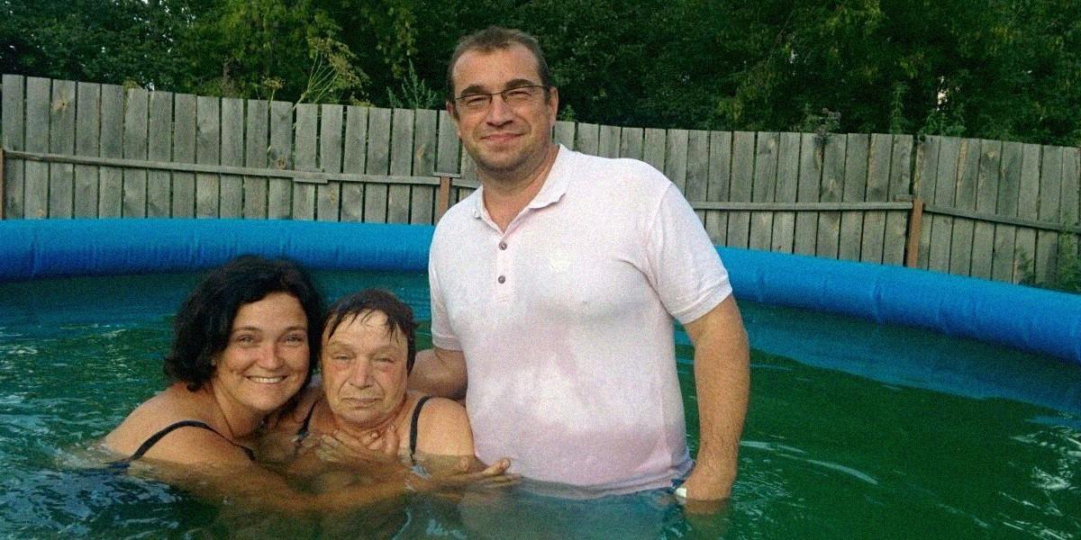 Мама крестилась в Челябинске спустя 15 лет молитв