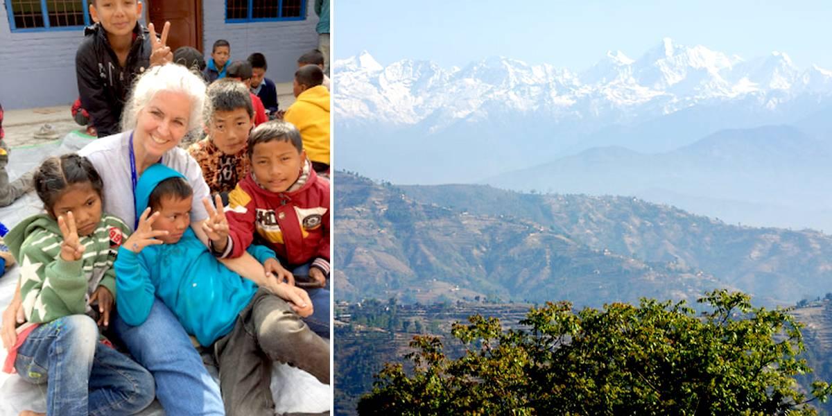 Стать волонтером в 53 года: история моего путешествия в Катманду