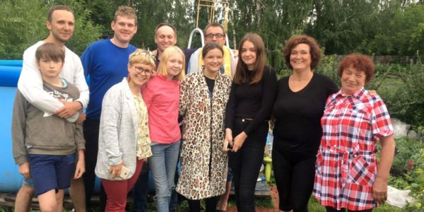 Крещение в Челябинске: Путь ведущий к жизни