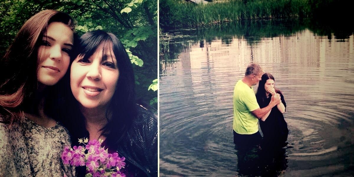 Крещение дочери стало для всех большим праздником