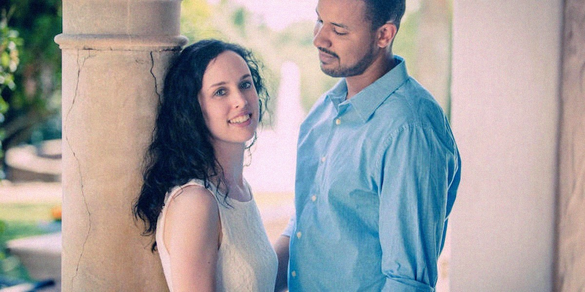 Джейсон и Лаура женились благодаря сайту знакомств DT Heart and Soul