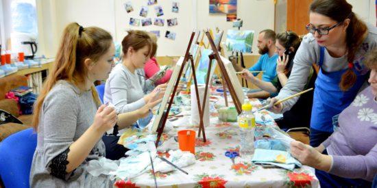 Курсы живописи в Челябинске от Юлии