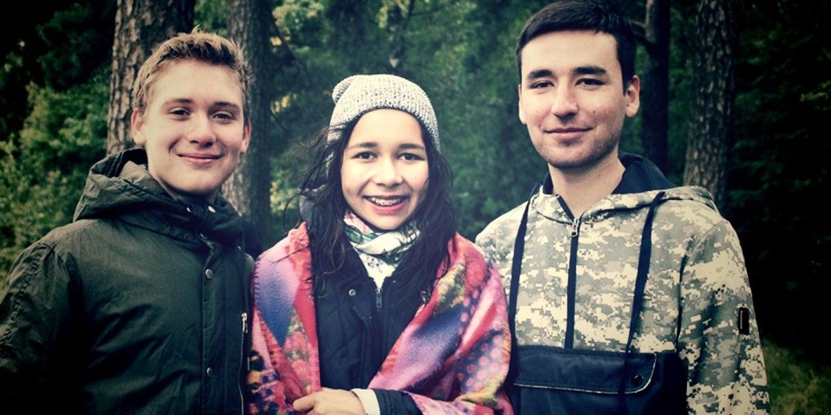 Крещение подростков в Санкт-Петербурге