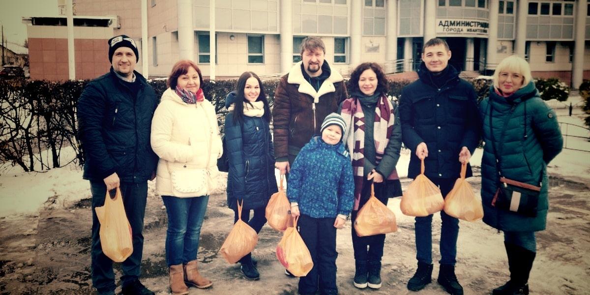 Волонтеры в Ивантеевке помогают нуждающимся