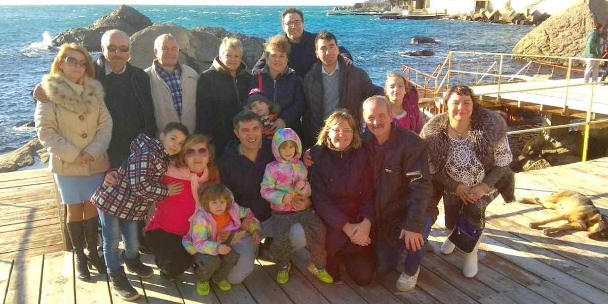 Крещение в Севастополе (Крым)