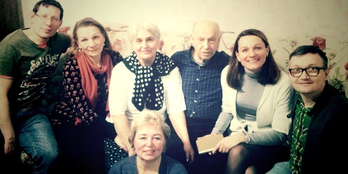 В Санкт-Петербурге крестилась удивительная семейная пара