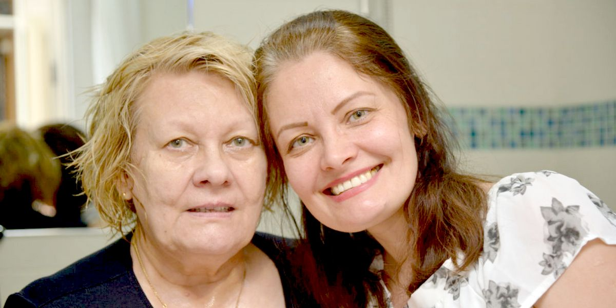 Крещение моей мамы в Новосибирске: разделите мою радость