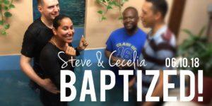 Крещение в Бруклине (Нью-Йорк): случайных встреч не бывает
