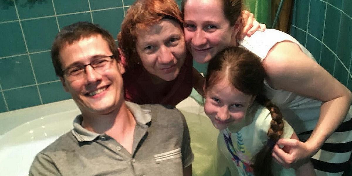 Хорошие новости семьи Алексея и Елены. Нижний Новгород
