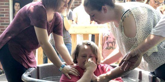 Крещение в Вирджинии, США. Удивительные истории