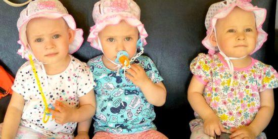 В семье тройняшек из Нижнего Новгорода крестилась бабушка
