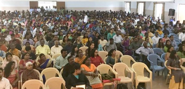 Церковь в Бангалоре (Индия) отмечает 30-летний юбилей
