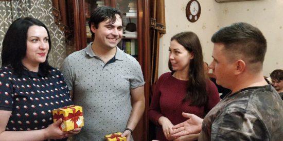 Церковь в Ивантеевке проводит очередное крещение