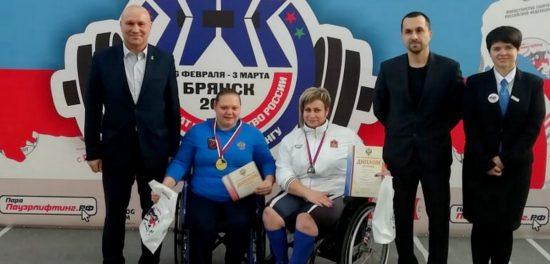 Чемпионат России по спорту ПОДА: новый рекорд Веры Муратовой
