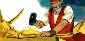 Золотой телец в Библии - почему Аарон сделал этого идола?