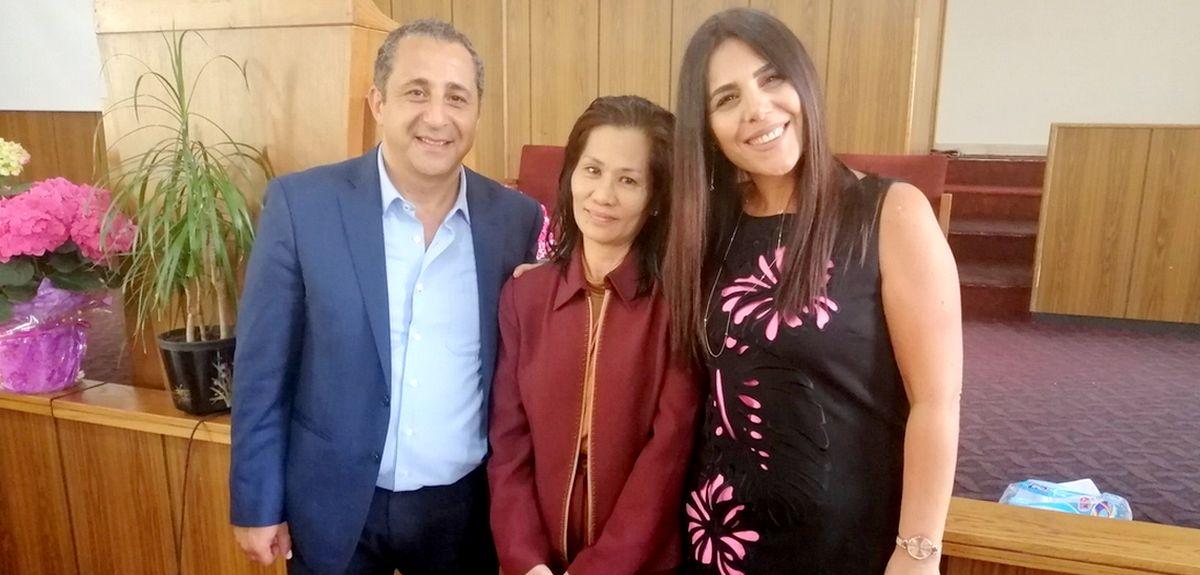 Как сайт церкви в Ливане помог Астрид креститься