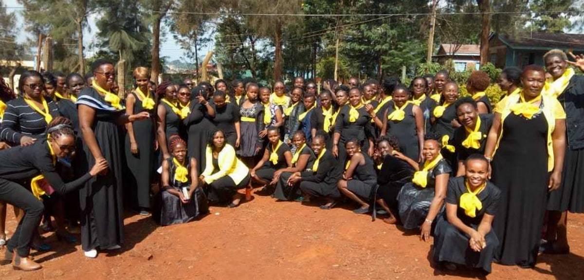 Церковь Христа в Найроби устроила проповедь в женской тюрьме