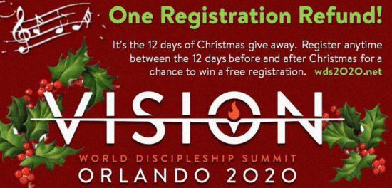 Бесплатная регистрация на христианский саммит в Орландо. Розыгрыш начался!