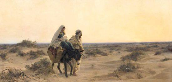 Бегство в Египет: как долго Иисус был в Египте с Иосифом и Марией?