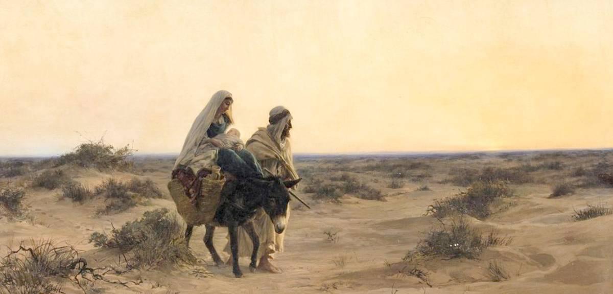 Сколько Иисус Христос был в Египте с Иосифом и Марией?