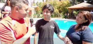 Церковь Христа в Сантьяго (Чили) празднует крещение 5 человек