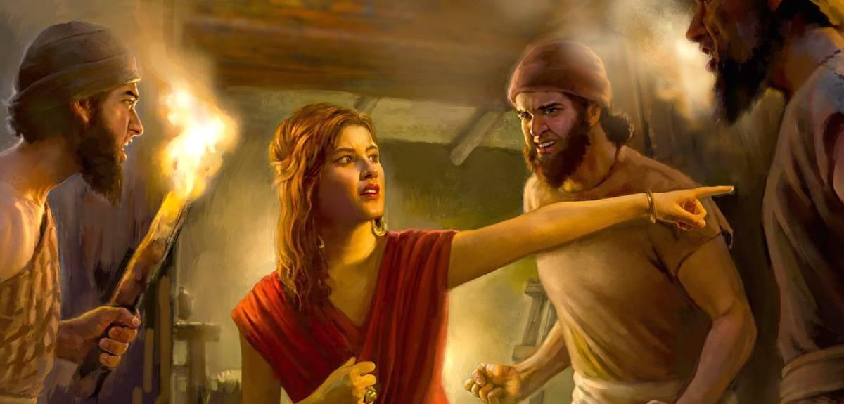 Блудница Раав и красная веревка — символ Пасхи в Библии?