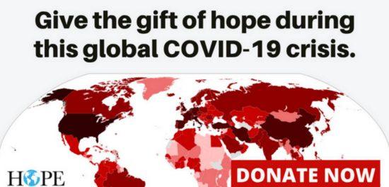 БФ «HOPE worldwide» собрал $1.5 млн. для пострадавших общин