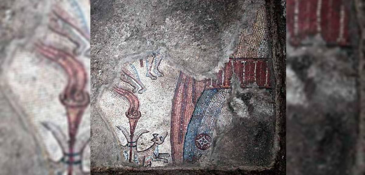 Мозаики в Хукоке: в Израиле найдены изображения сцен из Библии
