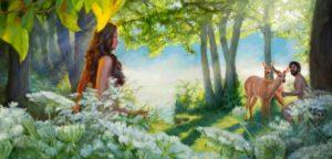Когда Бог создал животных и растения - до человека или после?