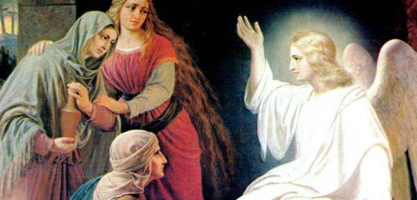 Ангелы у гробницы Христа — сколько их было согласно Библии?