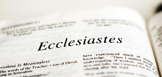 Книга Екклесиаста — смысл послания и ее значение для человека