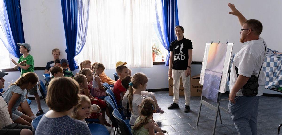 «Сумка Самарянина» - благотворительный проект с вечными целями